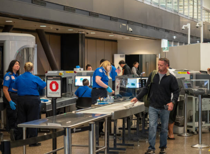 TSA Security Checkpoint