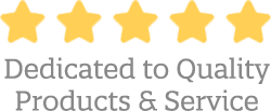 Five Star Dedicated to Quality Products and Service
